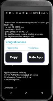 Password Hacker fb Prank apk screenshot