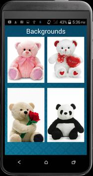 teddy bear slider lock apk screenshot
