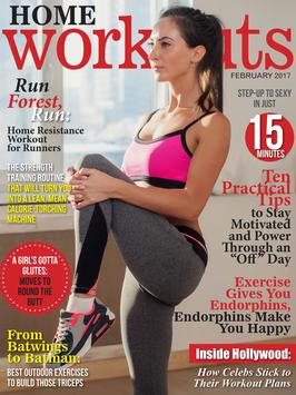 Home Workouts Magazine poster