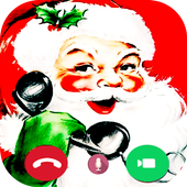 Pro-fake call from Santa prank icon