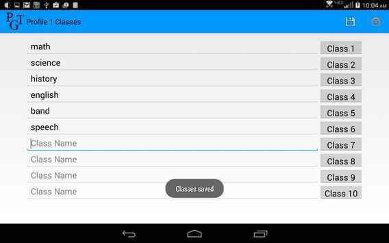 Parent Grade Tracker Lite screenshot 8