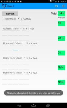 Parent Grade Tracker Lite screenshot 11