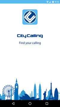 City Calling poster
