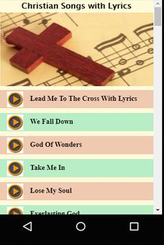 Christian Songs with Lyrics screenshot 2