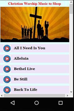 Christian Worship Music to Sleep apk screenshot