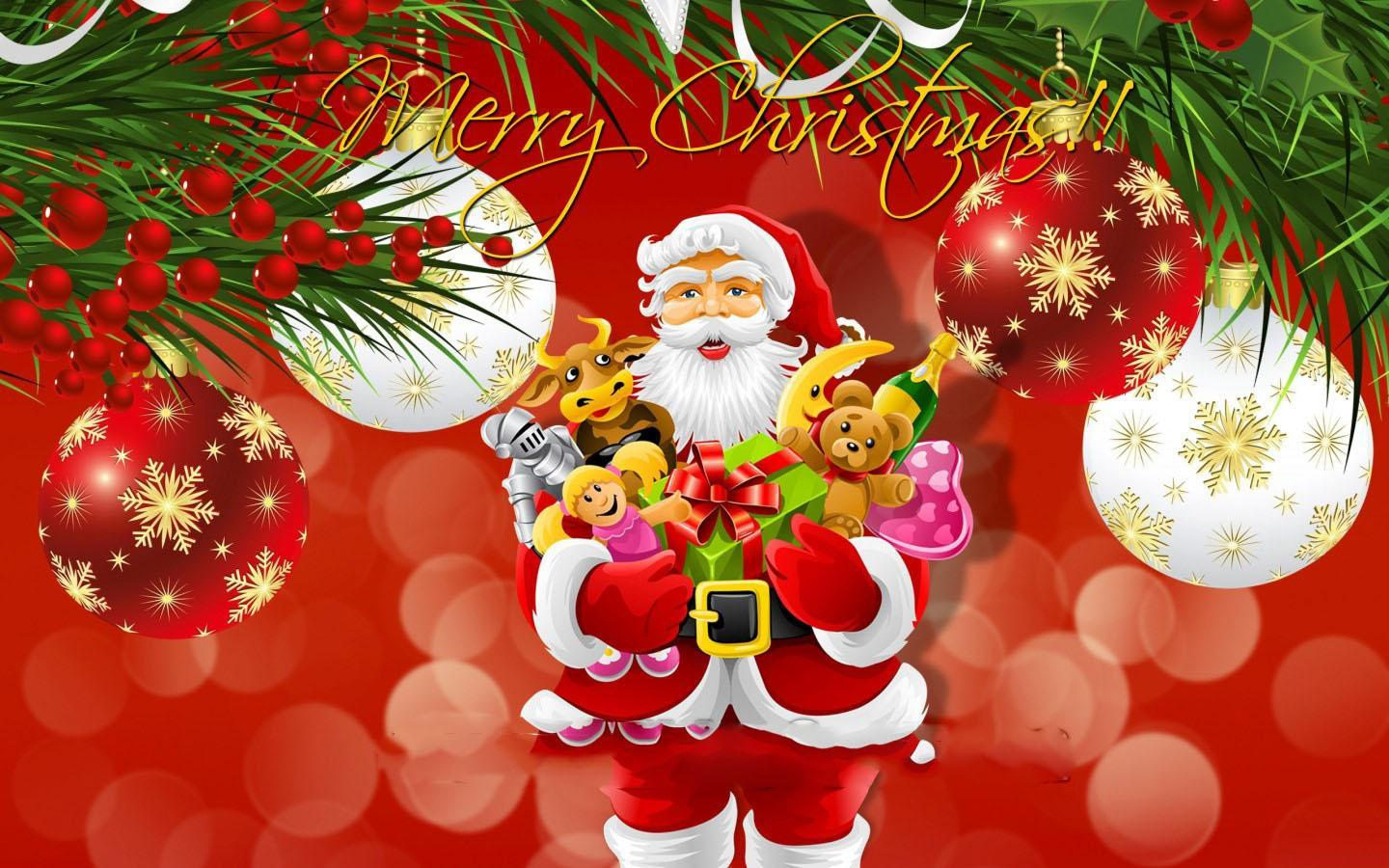 Download Merry Christmas Wallpaper