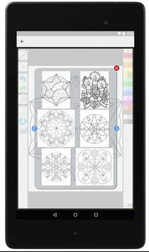 Christmas Mandala Coloring Pages For Adults screenshot 3