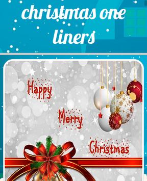 Christmas One Liners poster