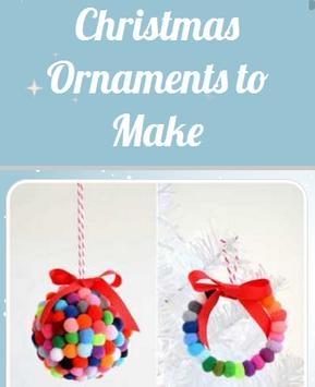Christmas Ornaments To Make poster