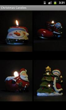 Free Christmas Candles poster