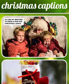 Christmas Captions poster