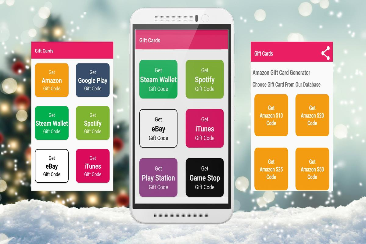 Free Christmas Gift Card-Free Gift Card for Android - APK Download