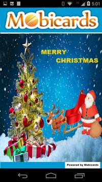 Christmas Greetings cards poster