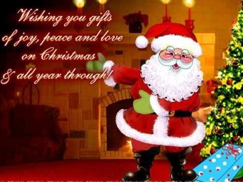 Christmas Card Live Wallpaper apk screenshot