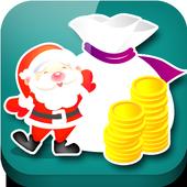 Christmas Coin icon