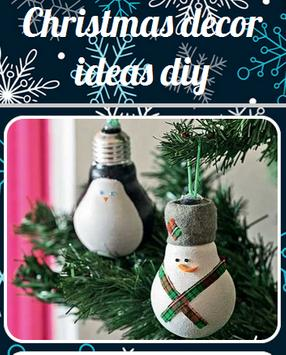 Christmas Decoration Ideas Diy poster