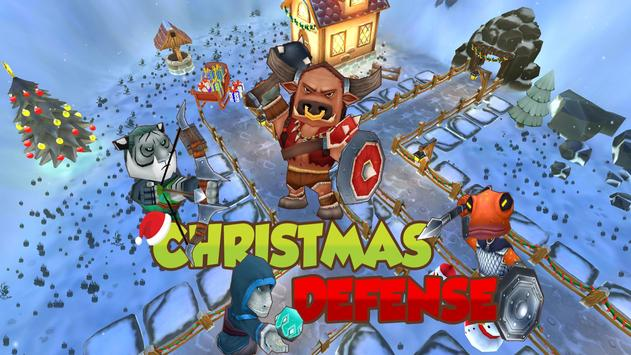 Christmas Tower Defense poster