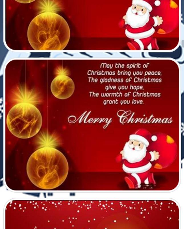 Christmas greetings message for android apk download christmas greetings message screenshot 3 m4hsunfo