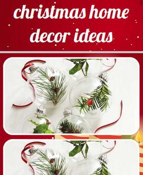 Christmas Home Decor Ideas poster