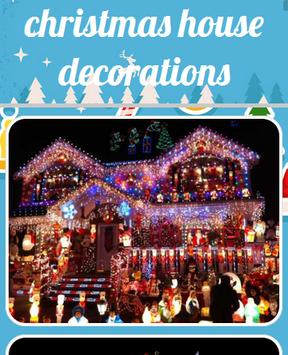 Christmas House Decorations poster