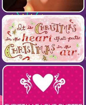Christmas Love Quotes screenshot 2