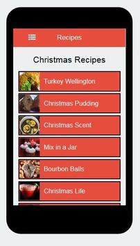 Christmas Recipes apk screenshot