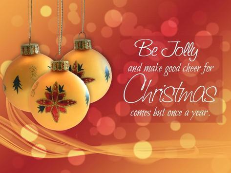 Christmas Slogan poster