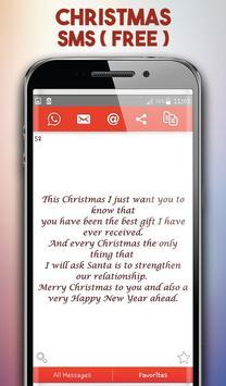 Christmas SMS Collection - Christmas Greetings apk screenshot