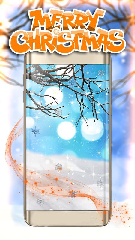 Schneefall Live Hintergrund 3d Kostenlos für Android - APK herunterladen