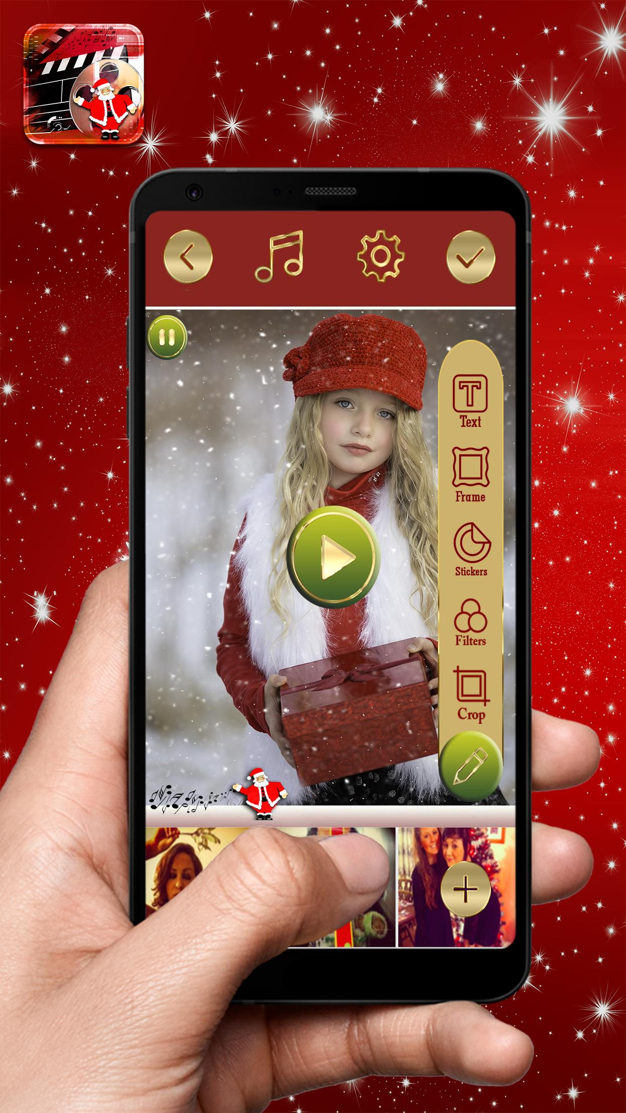 Christmas Video Maker — Photo Slideshow With Music 1