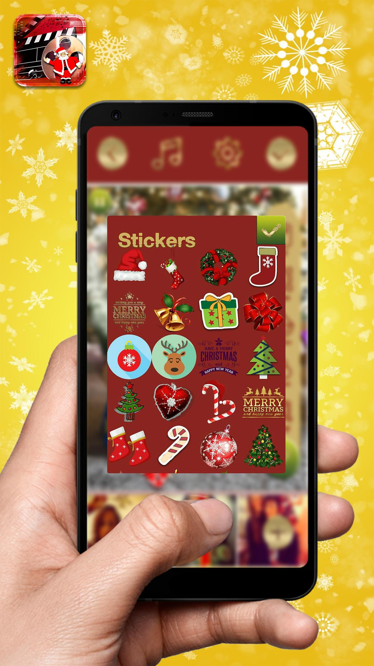 Christmas Video Maker — Photo Slideshow With Music 2