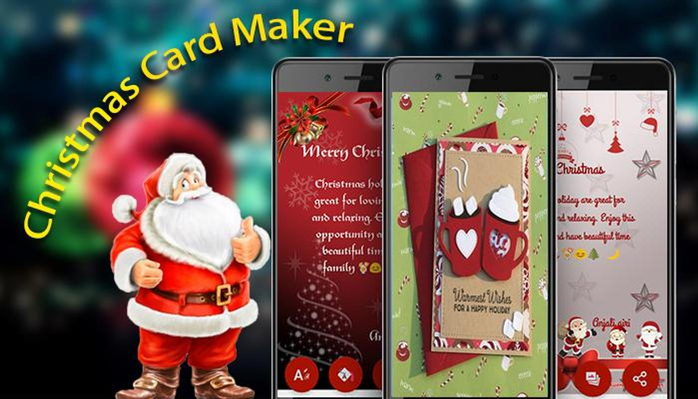 Christmas Card Maker Free - Create Xmas Ecards for Android - APK ...