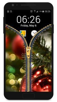 Christmas zipper - fake poster