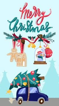 Christmas Winter Stickers poster