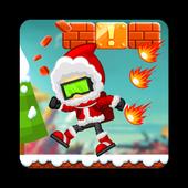 Christmas Santa Run : Ice Age icon