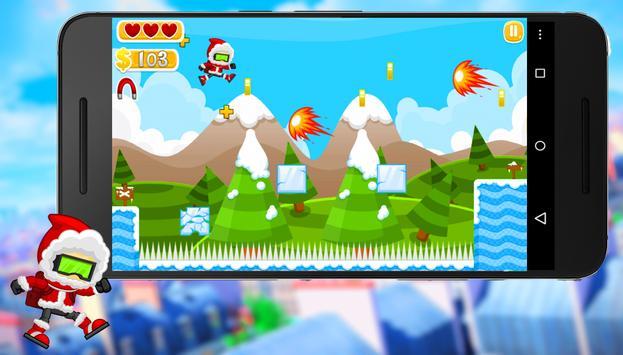 Christmas Santa Run : Ice Age apk screenshot