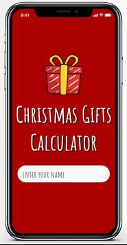 Christmas Gifts Calculator poster