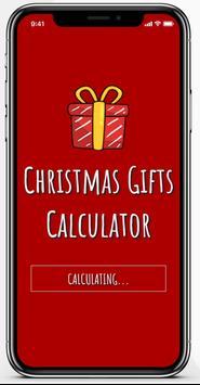 Christmas Gifts Calculator screenshot 3
