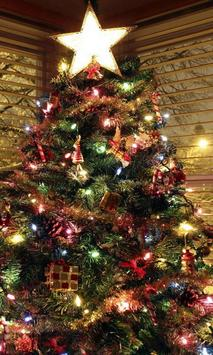 christmas live wallpaper tree poster
