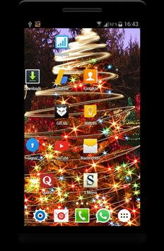 Christmas Live Wallpaper скриншот 2