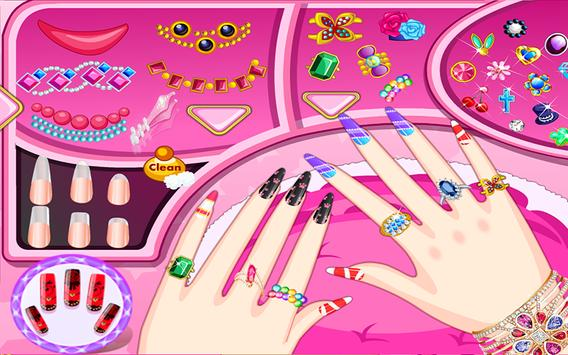 Princess Nail Art Salon poster