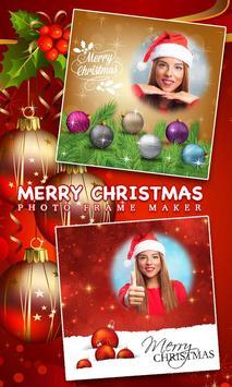Christmas Photo Card Frame poster