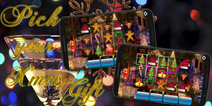 Texas HoldEm Slot Machine - Christmas Edition screenshot 1