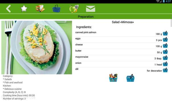 Christmas recipes apk screenshot