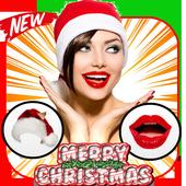 Christmas Makeup Photo Editor icon