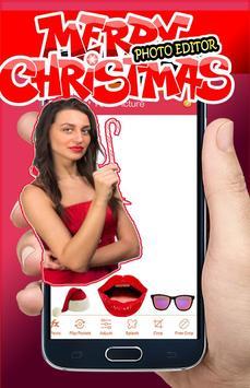 Christmas Makeup Photo Editor poster