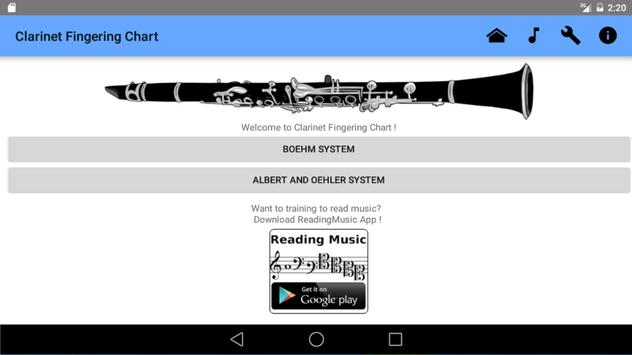 Clarinet Fingering Chart Apk Download  Free Music  Audio App For
