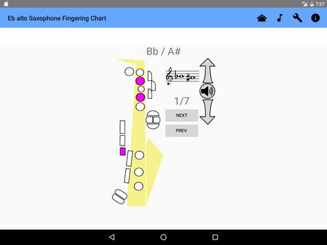 Saxophone Fingering Chart Apk Download  Free Music  Audio App