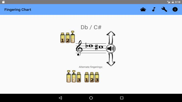 Trumpet Fingering Chart Free Apk Download  Free Music  Audio App