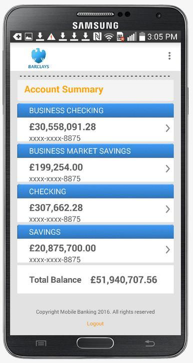 Fake Bank Account Free for Android - APK Download